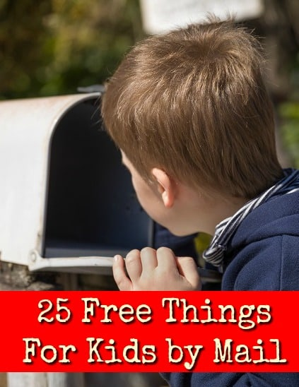 25 Free Things For Kids By Mail