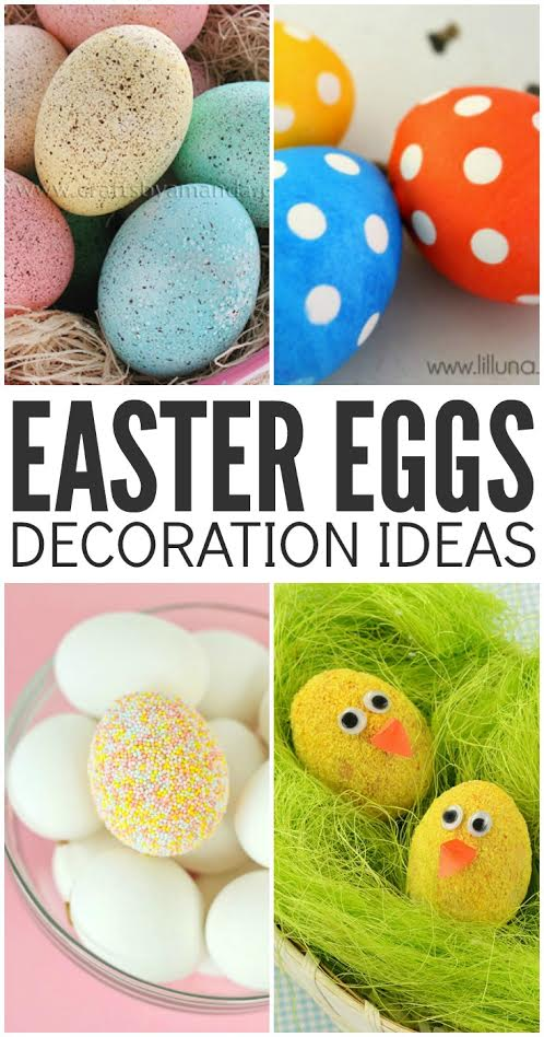 Cute Easter Egg Decoration Ideas