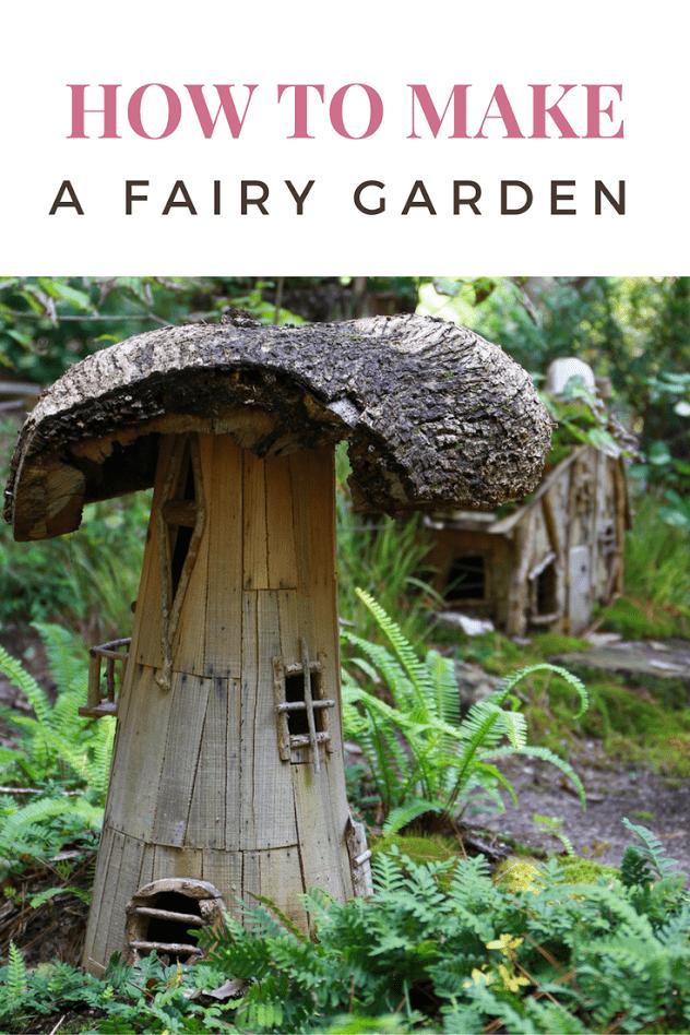How to Make a Fairy Garden Outdoors