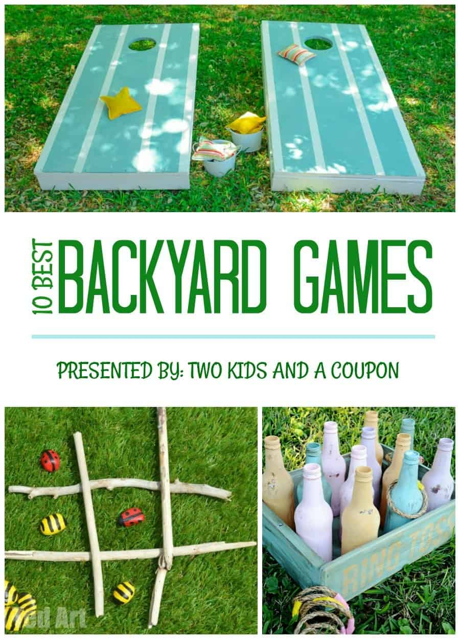 The 10 Best Backyard Games for Kids and Adults