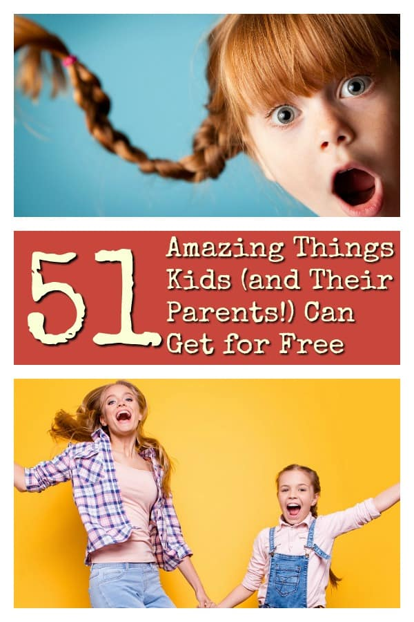 Free Stuff for Kids - 51 Amazing Things Kids (and Their