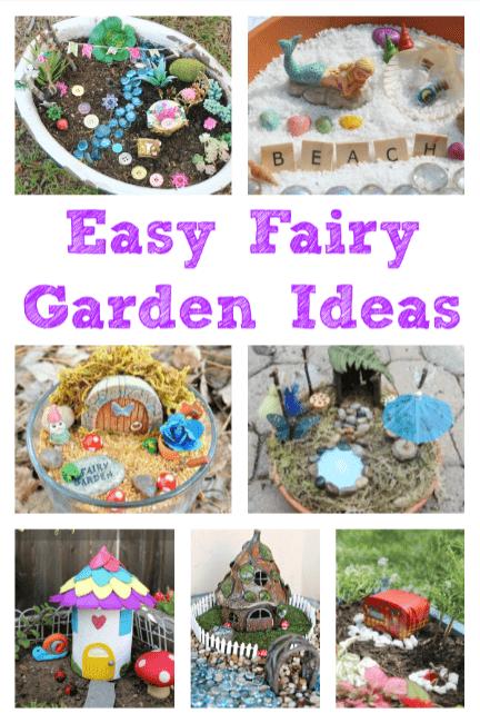 Easy Fairy Garden Ideas To Make With Kids