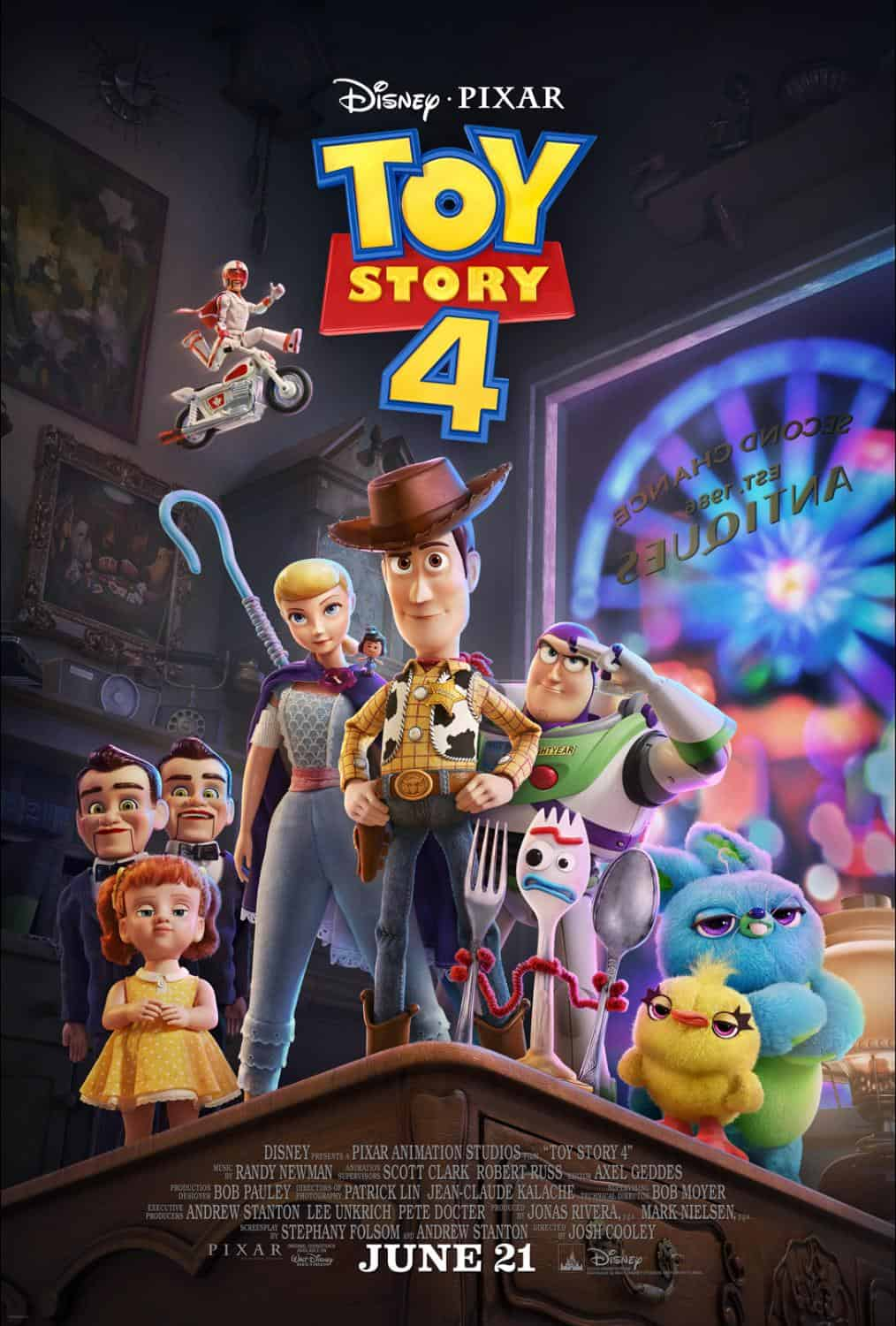 New Toy Story 4 Characters Plus Toy Story 4 Coloring Pages Toystory4