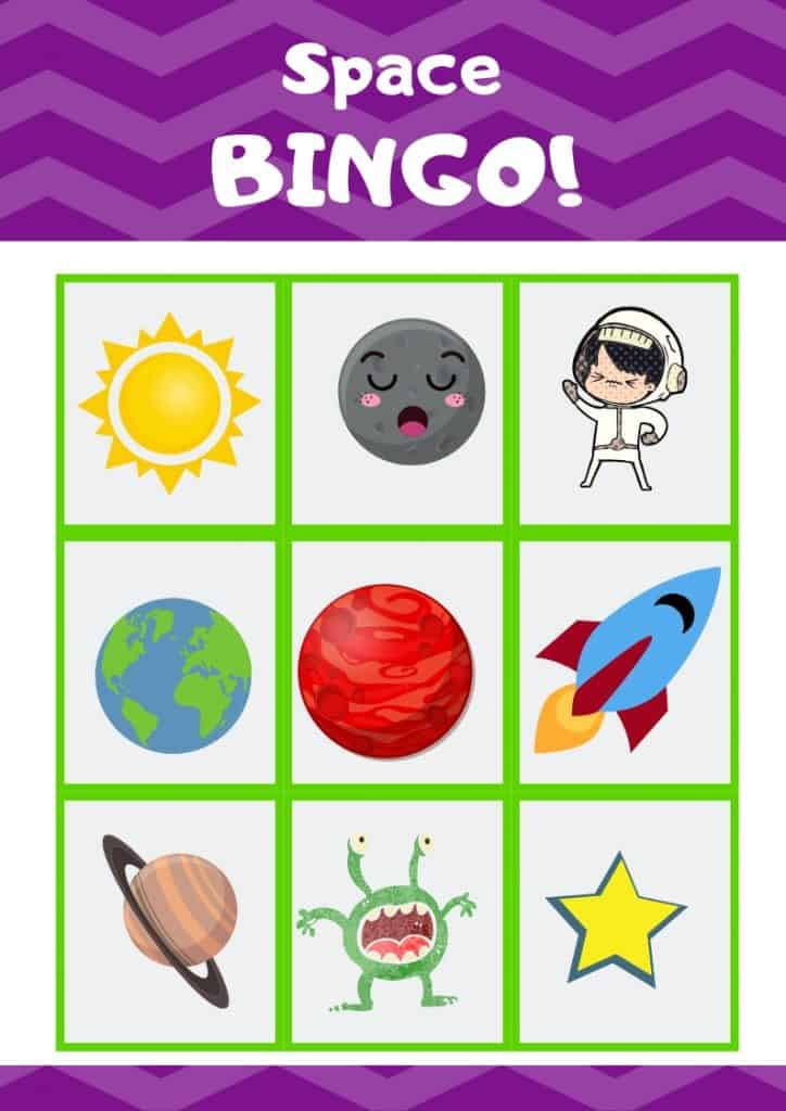 photograph relating to Free Printable Football Bingo Cards referred to as Cost-free Printable Outer Spot Bingo Video game