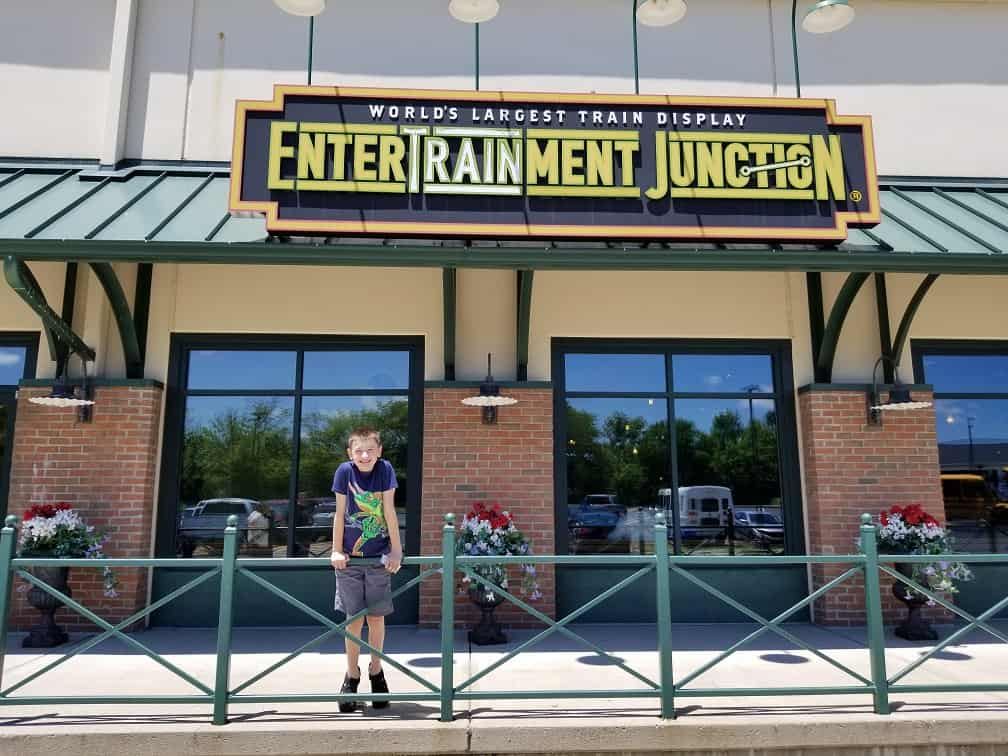 All Aboard For Family Fun At Entertrainment Junction