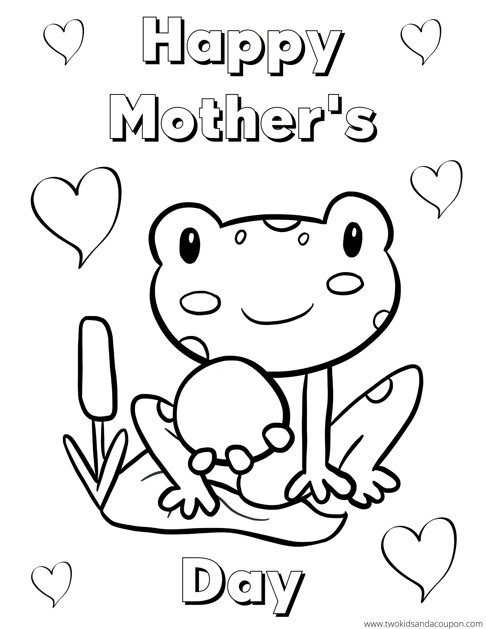 Free Printable Mother S Day Coloring Pages For Kids