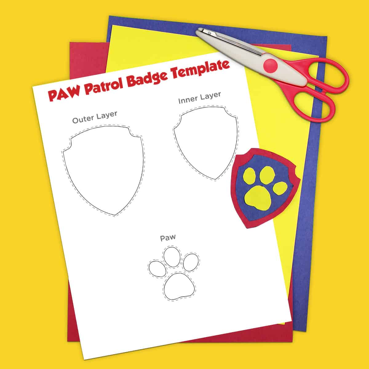 Free Printable Paw Patrol Coloring Pages And Activities