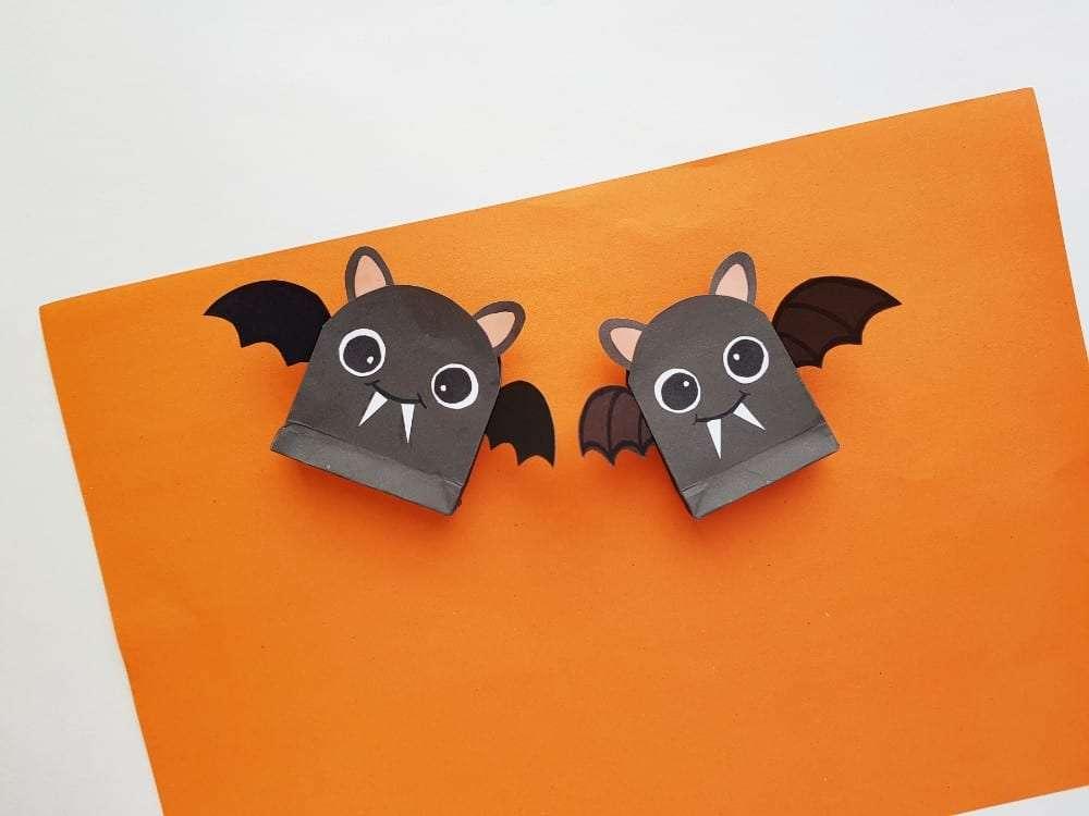 Cute Bat Halloween Bag And Bucket Ideas